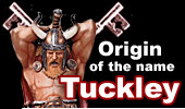 Origin of the name Tuckley